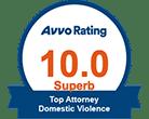 AVVO 10.0 Top Attorney Domestic Violence