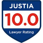 Justia 10.0 Lawyer Ratin